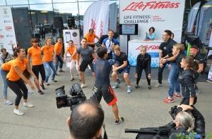 Компания Life Fitness выступила в поддержку спортивного мероприятия «Забег в высоту»