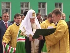 В областном центре открылся памятник Питириму Тамбовскому