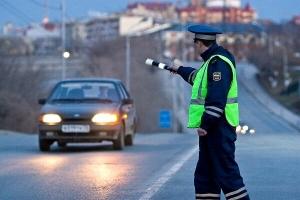 Вводятся новые правила остановки автомобилей за пределами постов ДПС