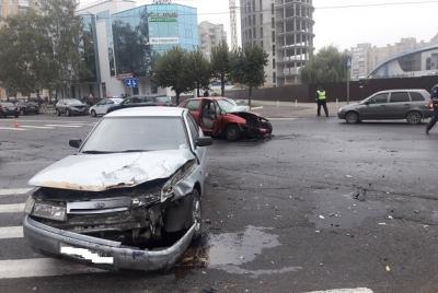 В сети появилось видео тройного ДТП в центре Тамбова, в котором погиб водитель