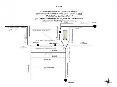 В Тамбове общественный транспорт с 27 июля будет ходить по изменённым маршрутам