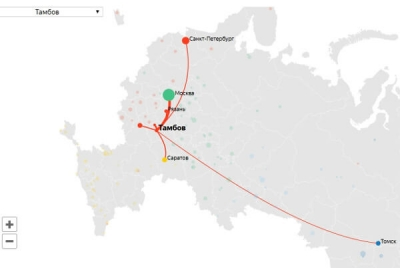 Яндекс выяснил, какие вузы выбирают тамбовские абитуриенты