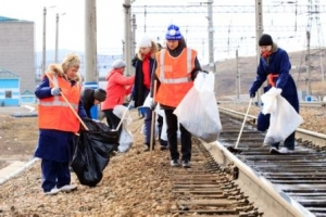 22 апреля железнодорожники Ртищевского и Мичуринского узлов ЮВЖД выйдут на субботник