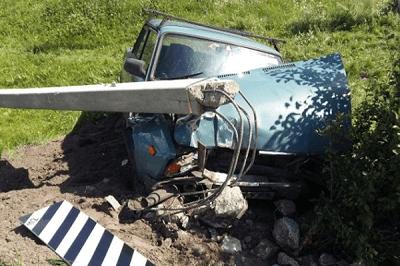 "В Тамбовском районе водитель ""легковушки"" заснул за рулем"