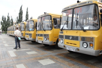 Тамбовских школьников будут обслуживать 400 школьных автобусов