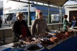 В Моршанске открыли новый сельскохозяйственный рынок
