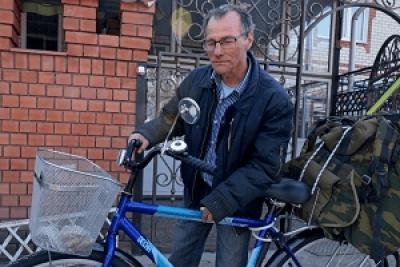 Пенсионер из Жердевки отправится на Байкал на велосипеде