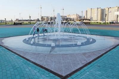 На севере Тамбова заработал новый фонтан