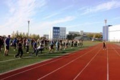 """Более 100 студентов ТГТУ приняли участие в фитнес-зарядке """"Энергия жизни"""""""