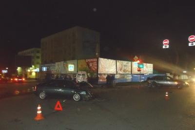 В Мичуринске скорая помощь столкнулась с двумя автомобилями