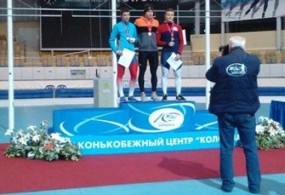 Тамбовчанин стал призером первенства ЦФО по конькобежному спорту