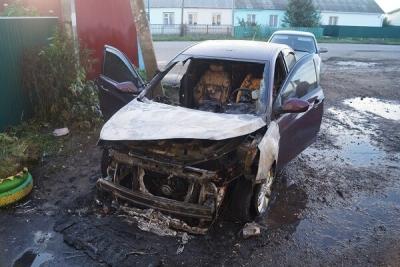 Житель Кирсановского района поджег иномарку из-за личной неприязни