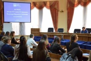 Студенты ТГУ предложили ректору университета варианты модернизации вуза