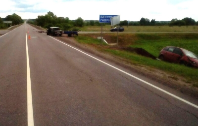 В результате ДТП в Гавриловском районе 58-летняя женщина попала в больницу