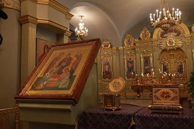 В Тамбов привезли сразу несколько ковчегов с мощами святых из Одесского монастыря