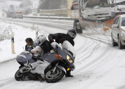 В ГД хотят запретить мотоциклистам ездить зимой
