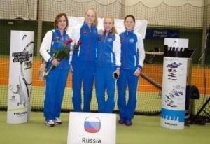 Тамбовская теннисистка Олеся Первушина в составе российской команды стала чемпионкой Европы