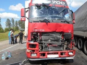 В Тамбовском районе столкнулись четыре автомобиля: есть пострадавшие