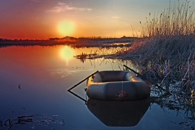 В Сосновском районе утонул рыбак