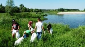 Тамбовские добровольцы отлично очистили от мусора прибрежные зоны, заняв второе место в ЦФО