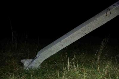 В Токарёвском районе 13-летний подросток на мотоцикле врезался в столб
