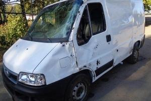 В Мичуринском районе перевернулся микроавтобус